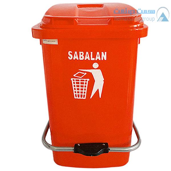 سطل زباله 60 لیتری پدال دار