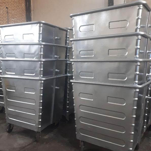 فروش سطل زباله 1100 لیتری با طرفیت ۱۱۰۰ لیتر با قیمت مناسب