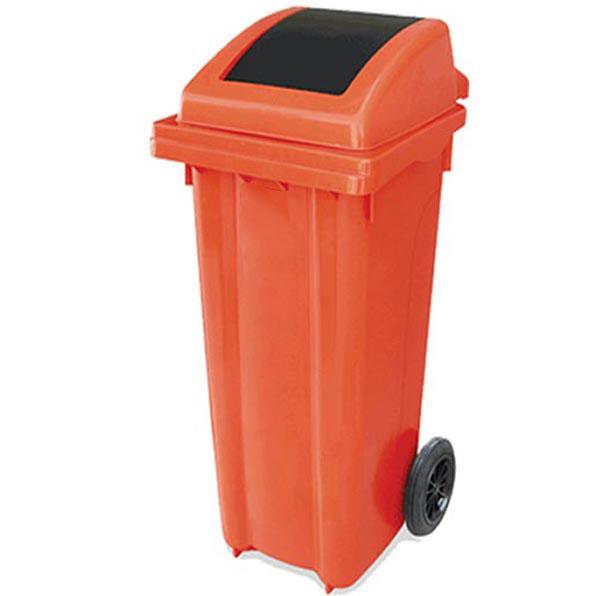 سطل زباله 120 لیتری دمپری