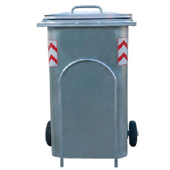 سطل-زباله-240-لیتری-گالوانیزه