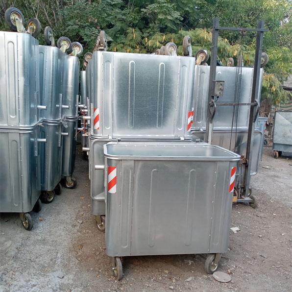 سطل زباله 660 لیتری مکعب