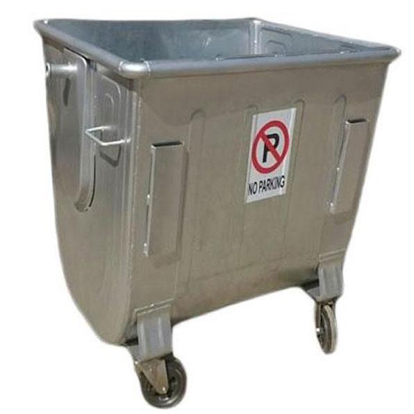 سطل-زباله-660-لیتری-گالوانیزه
