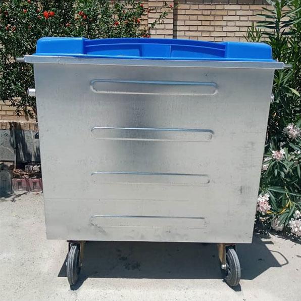 سطل زباله 770 لیتری مکعب