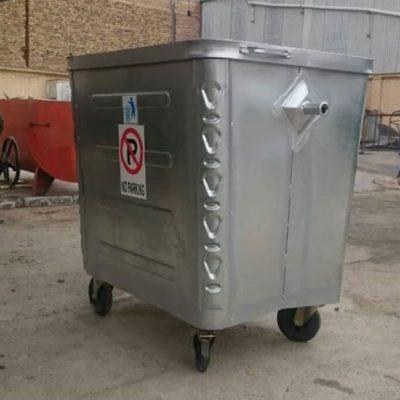 تولید سطل زباله 1100 لیتری