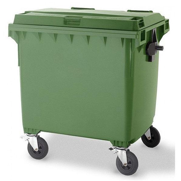 سطل زباله بزرگ پلاستیکی 770 لیتری