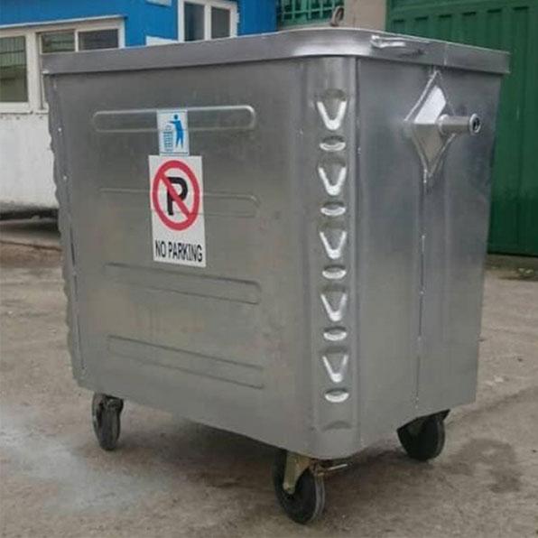سطل زباله شهرداری 1100 لیتری