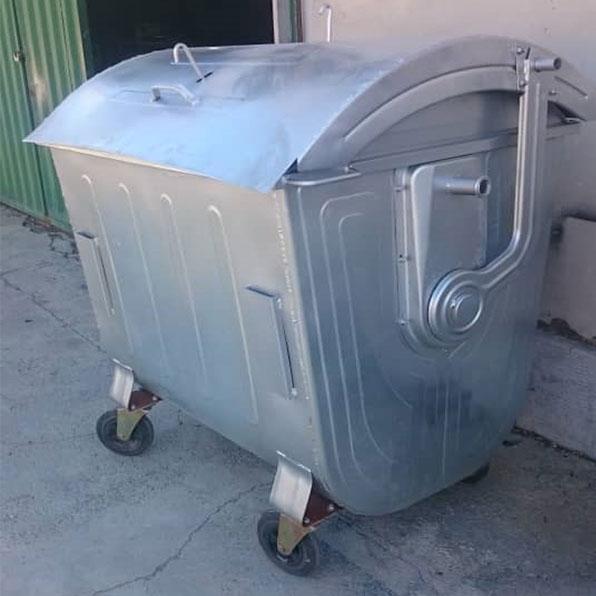 سطل زباله قوس دار 1100 لیتری