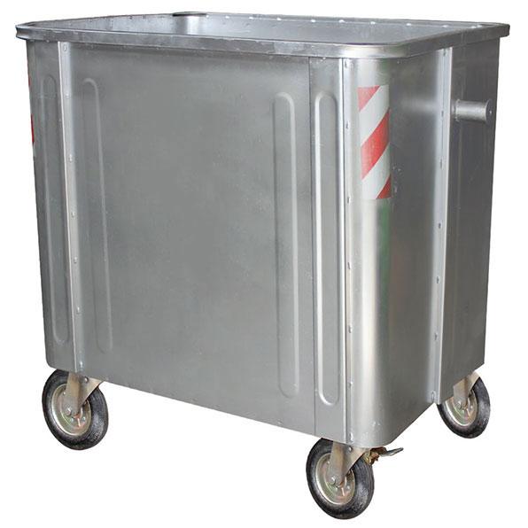 تولید کننده سطل زباله فلزی مکانیزه