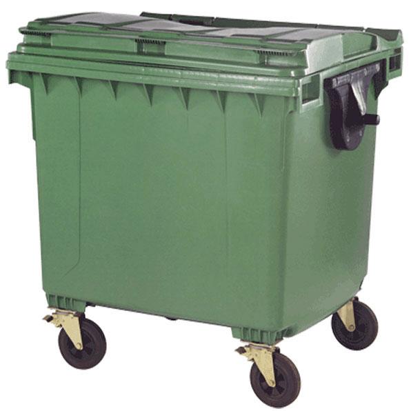 سطل زباله خیابانی 1100 لیتری