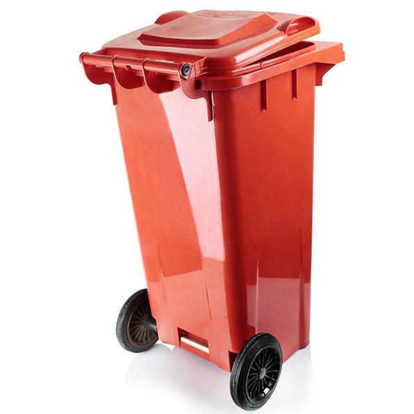 سطل زباله دو چرخ 240 لیتری