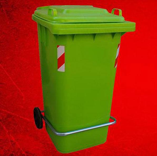 سطل زباله رستورانی 120 لیتری