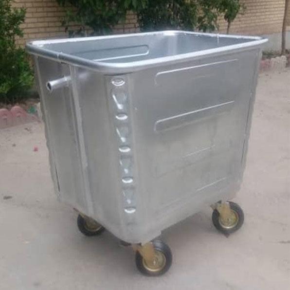 سطل-زباله-فلزی-1100-لیتری