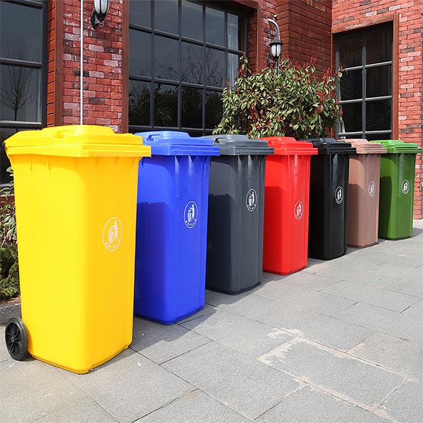 سطل زباله مجتمع مسکونی 240 لیتری