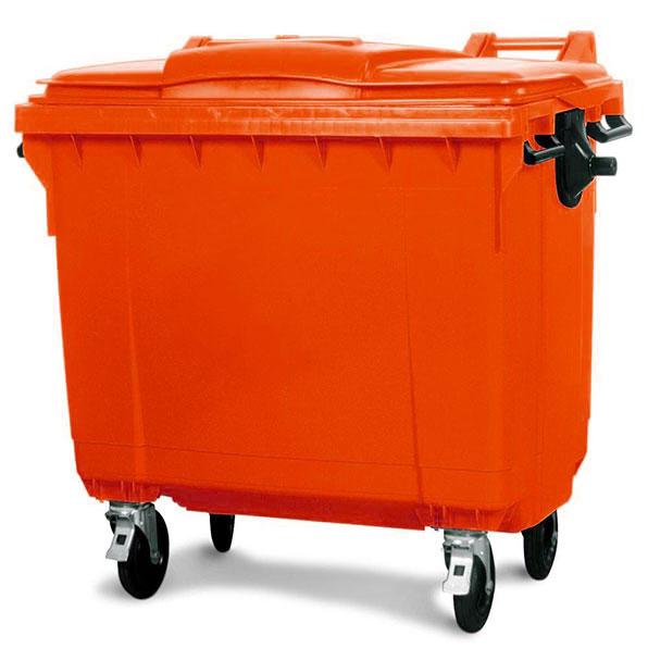 سطل زباله مکانیزه 1100 لیتری
