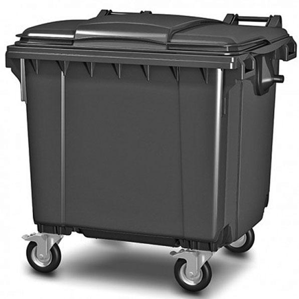 سطل زباله 660 لیتری سبلان پلاستیک