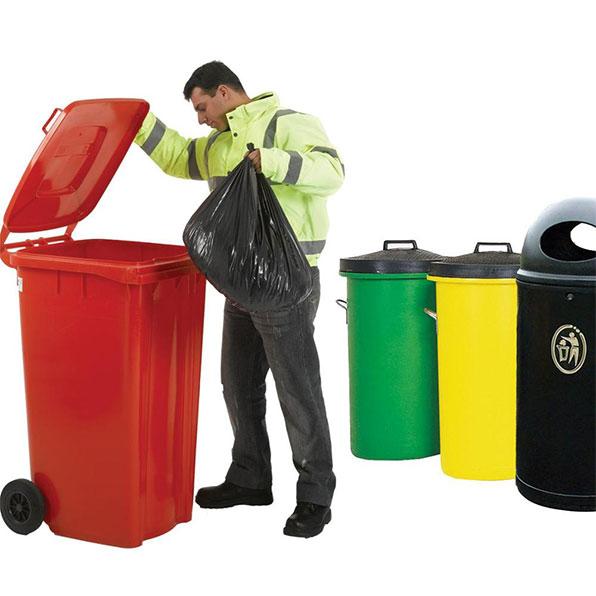 سطل پسماند زباله 240 لیتری پدالی