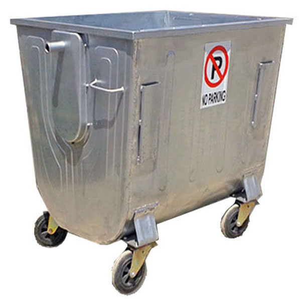 کارخانه تولید سطل زباله 660 لیتری