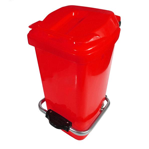 سطل زباله پلاستیکی 12 لیتری پدالدار