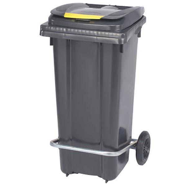 سطل زباله 180 لیتری پدال دار