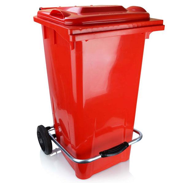 سطل زباله 220 لیتری پدال دار