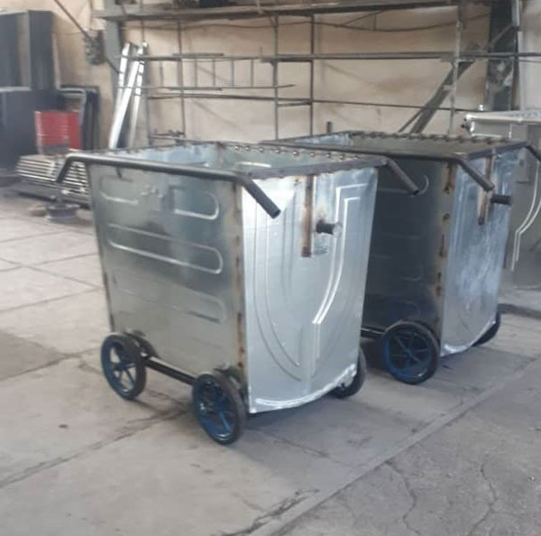 گاری-حمل-زباله-660-لیتری
