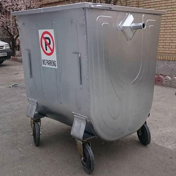 تولید کننده سطل زباله گالوانیزه شهری