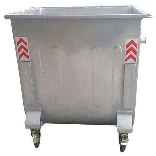 سطل زباله بزرگ مکانیزه فلزی