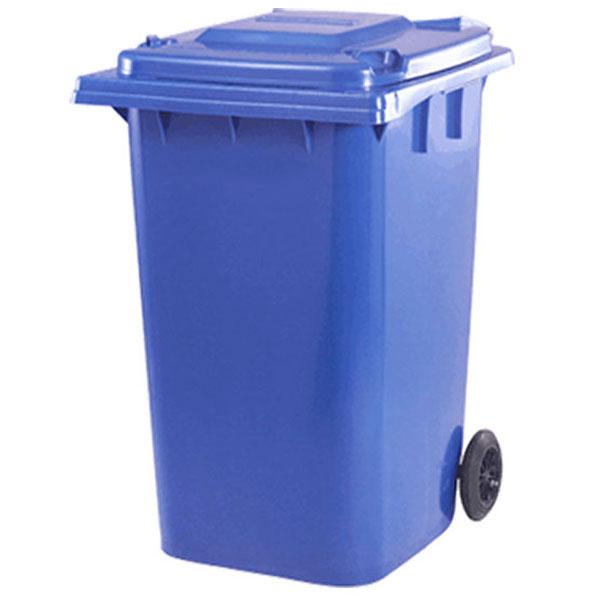 مخزن زباله بزرگ پلاستیکی 360 لیتری