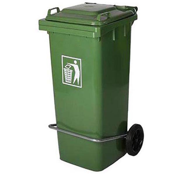 سطل زباله پدالدار 80 لیتری